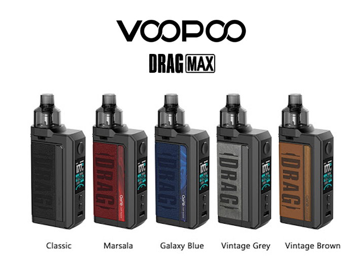 Voopoo drag max all color